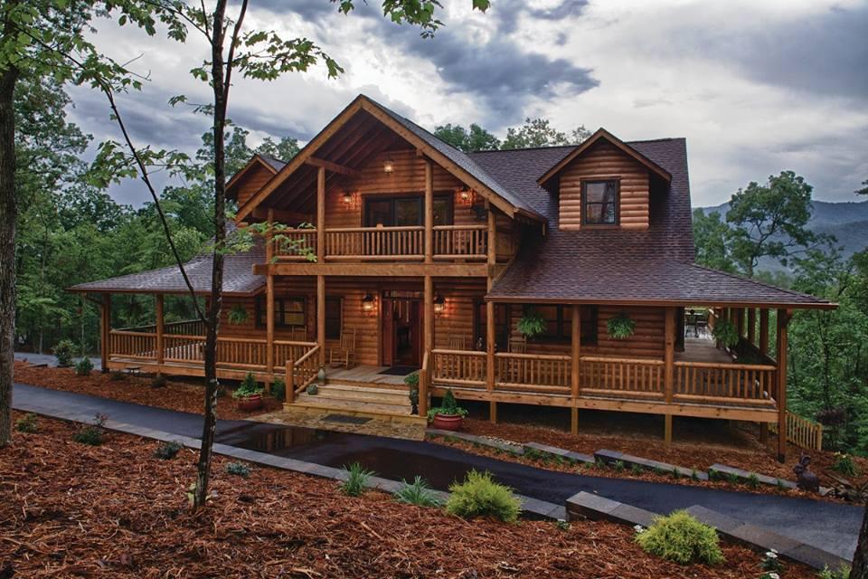 BuyIncomeProperties.com - Home Design Ideas: Log Home With A Wrap ...